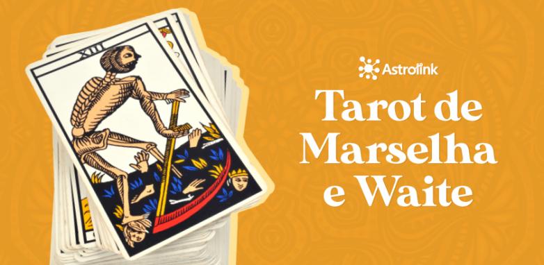 Qual é a diferença entre o Tarot de Marselha e o Tarot Rider Waite?