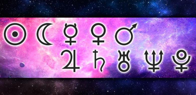 Os Símbolos Planetários