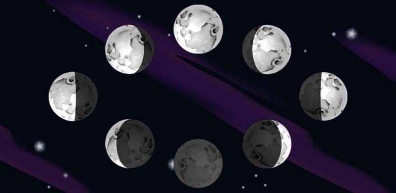 As Fases da Lua e suas influências