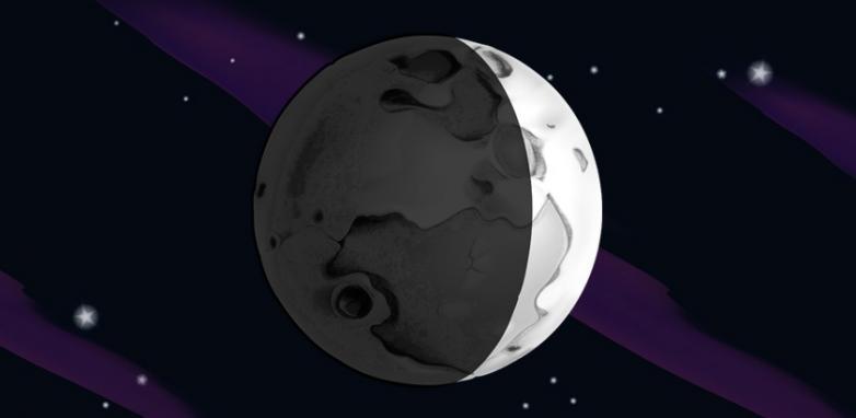A Lua Crescente - persistência, oportunidades, intuição