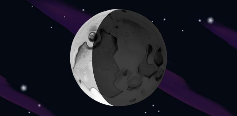 A Lua Balsâmica - transformação, contemplação, clareza de objetivos