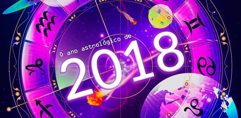 Previsões para 2018 na Astrologia